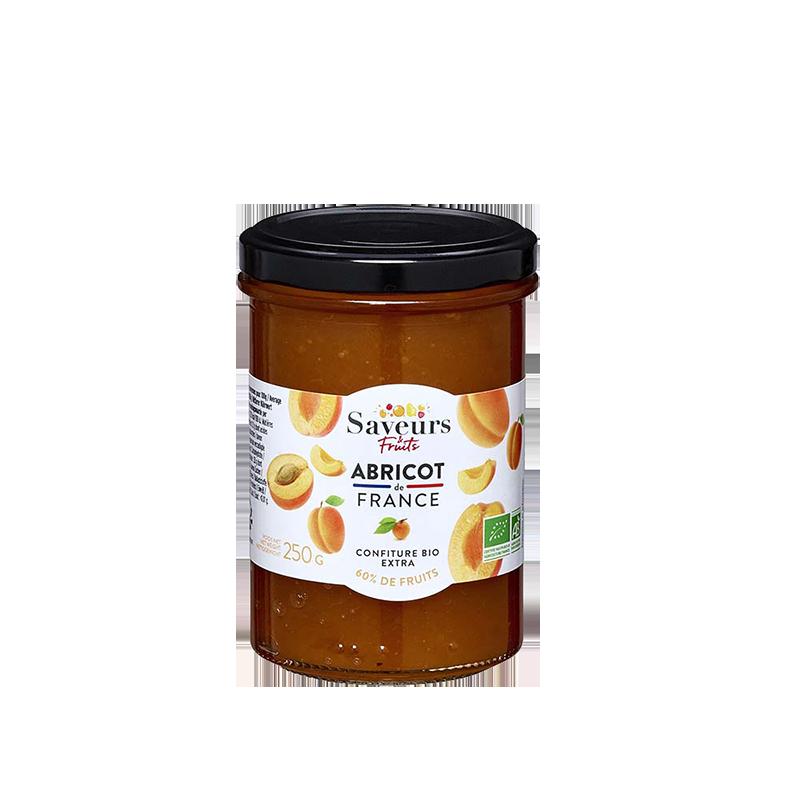 Saveurs&Fruits - Confiture Abricot de France Bio