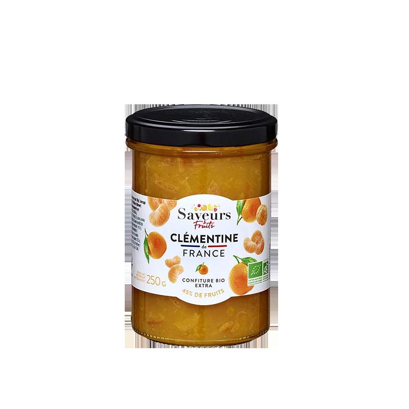Saveurs&Fruits - Confiture Clémentine de France Bio