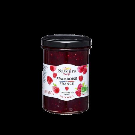 Saveurs&Fruits - Confiture Framboise de France Bio