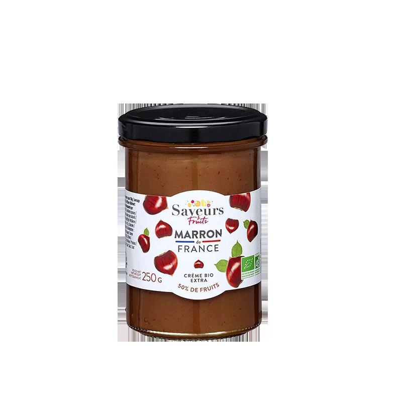 Saveurs&Fruits - Confiture Marron de France Bio