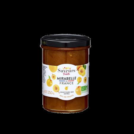 Saveurs&Fruits - Confiture Mirabelle de France Bio
