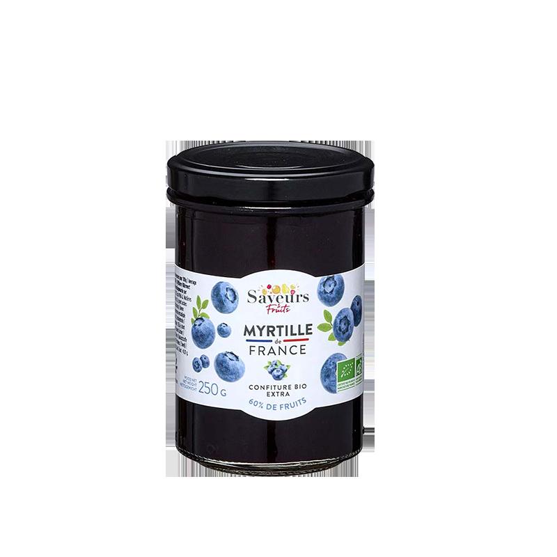 Saveurs&Fruits - Confiture Myrtille de France Bio