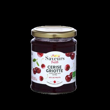 Saveurs&Fruits - Confiture de Cerise Griotte Bio