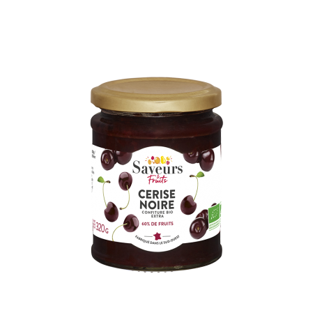 Saveurs&Fruits - Confiture de Cerise noire Bio
