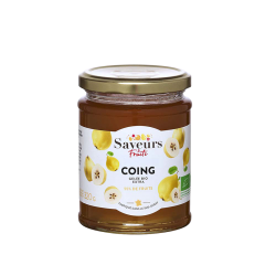 Saveurs&Fruits - Confiture de Coing Bio