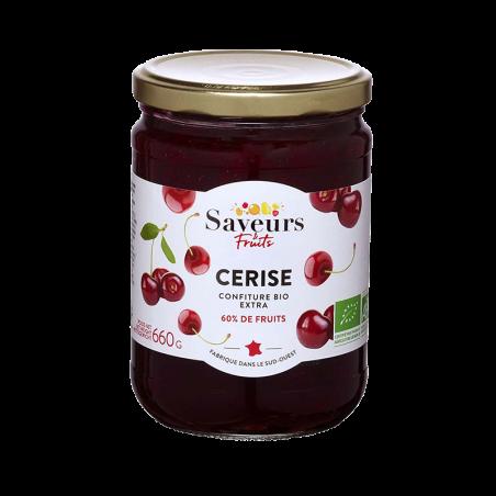 Saveurs&Fruits - Confiture de Cerise Bio