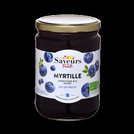 Saveurs&Fruits - Confiture de Myrtille Bio