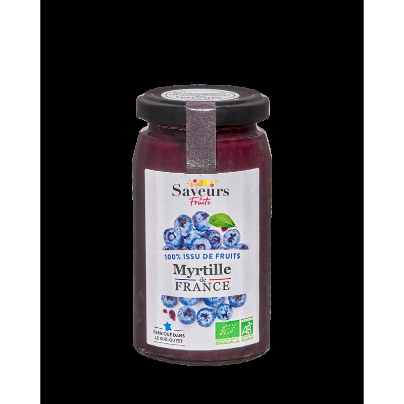 Saveurs&Fruits - Myrtille de France Bio