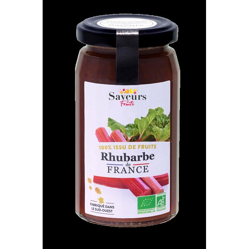 Saveurs&Fruits - Rhubarbe de France Bio