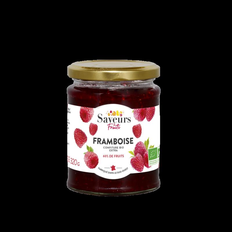 Saveurs&Fruits - Confiture de Framboise Bio