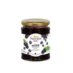 Saveurs&Fruits - Confiture de Mûre Bio