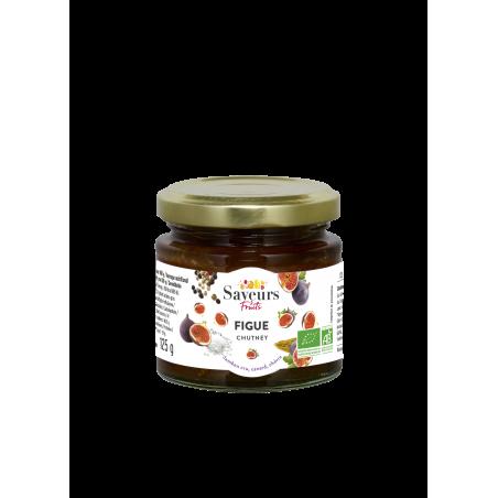 Saveurs&Fruits - Chutney de Figue Bio