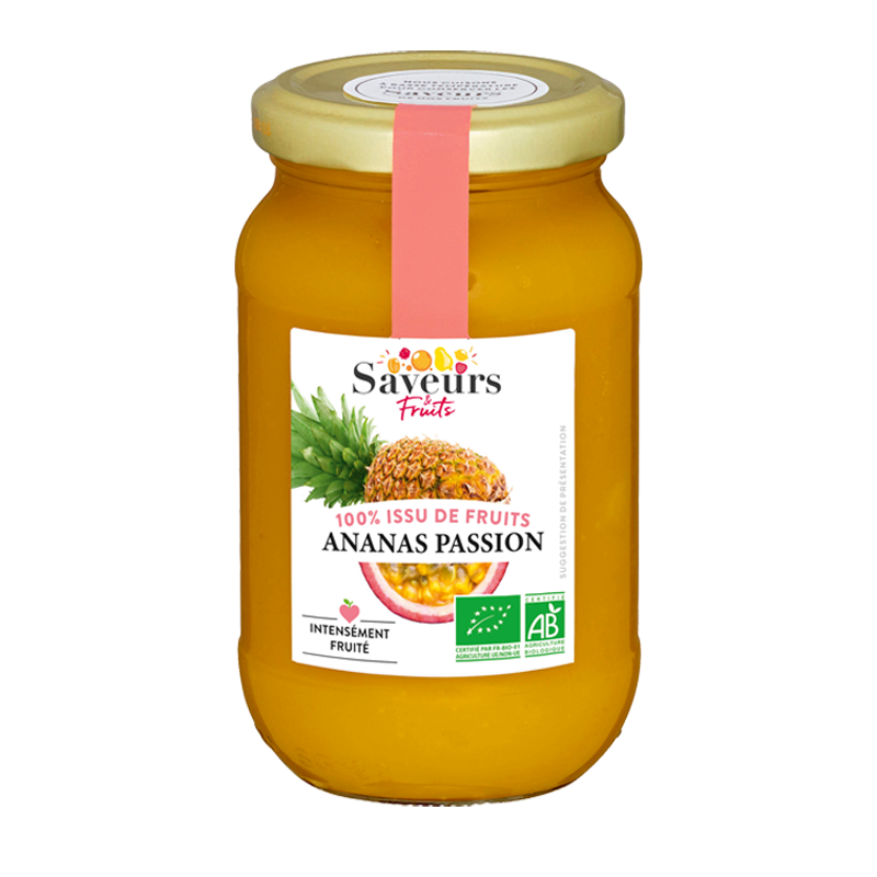 Saveurs&Fruits - Ananas Passion Bio